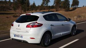 Renault Megane, Seitenansicht