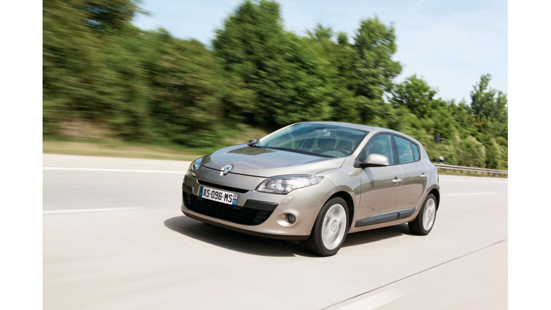 Renault Megane TCE 130, Front, Frontansicht