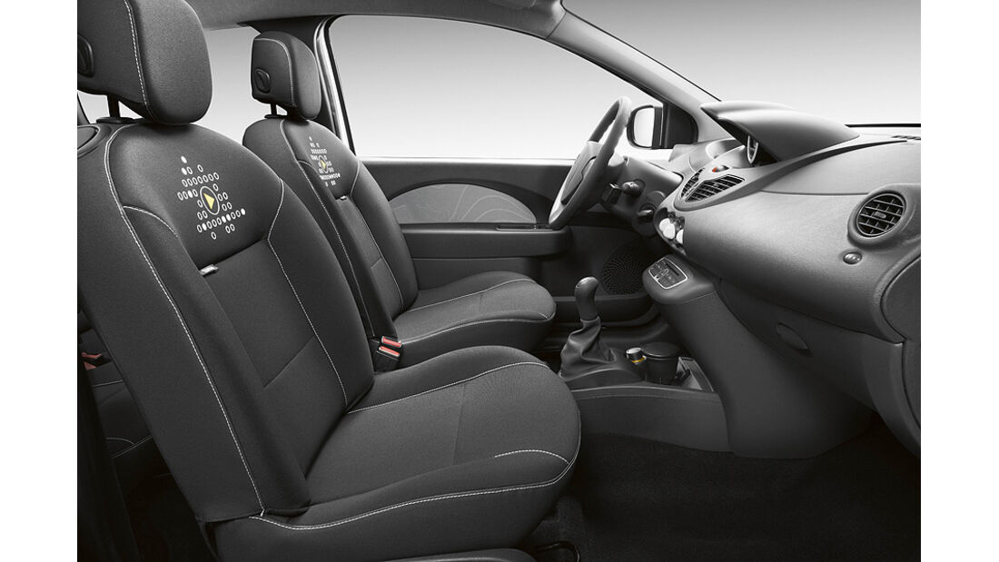 Renault Modus Yahoo-Sondermodell, Innenraum