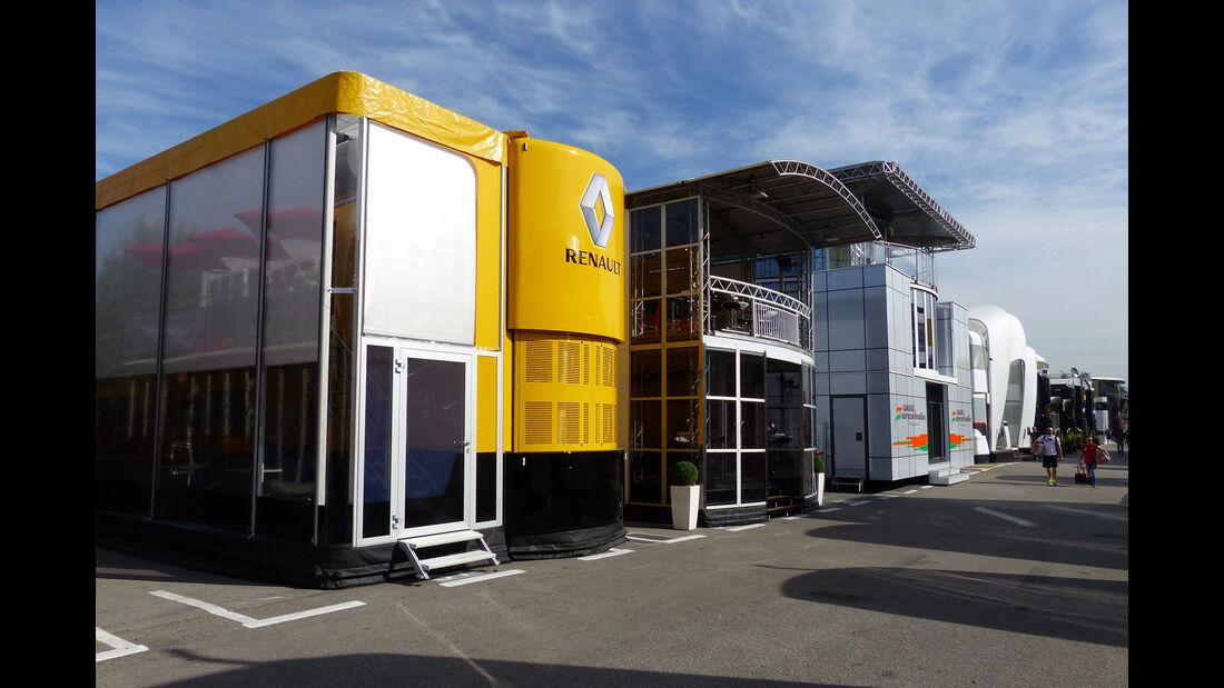 Renault - Motorhome - GP Spanien 2015 - Barcelona
