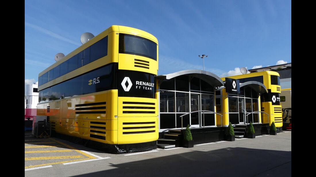 Renault - Motorhomes - Formel 1 - GP Spanien 2019