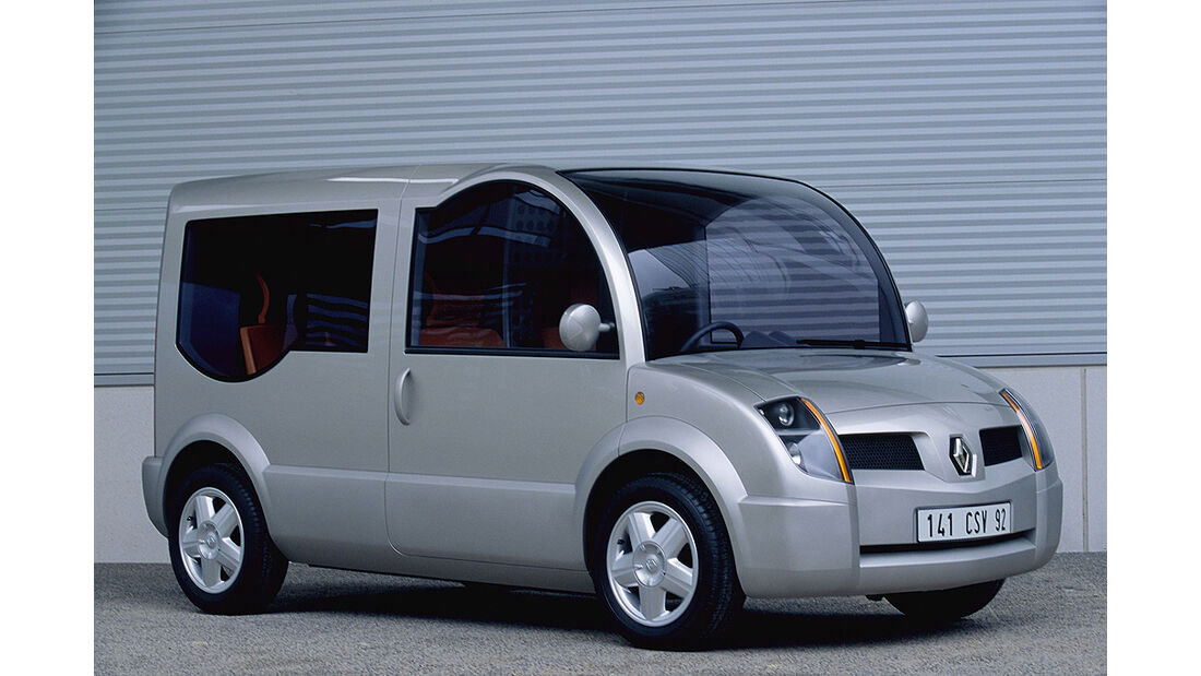 Renault Ökostudien, Renault Modus2 Transporter