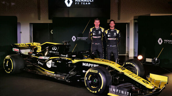 Renault Präsenation - F1-Auto - Saison 2019