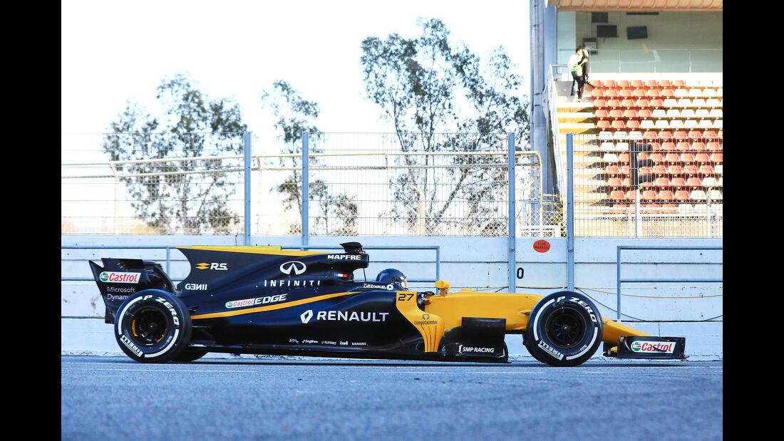 Renault - Profil - F1 - Barcelona Test 2017