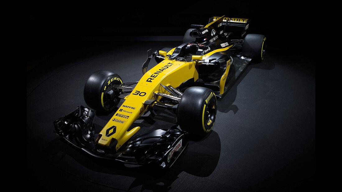 Renault R.S.17 - F1-Auto 2017 - Präsentation London
