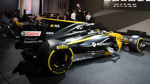 Renault R.S.17 - F1-Auto 2017 - Präsentation London