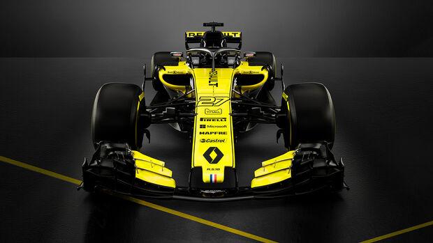 Renault R.S.18 - F1-Auto - 2018