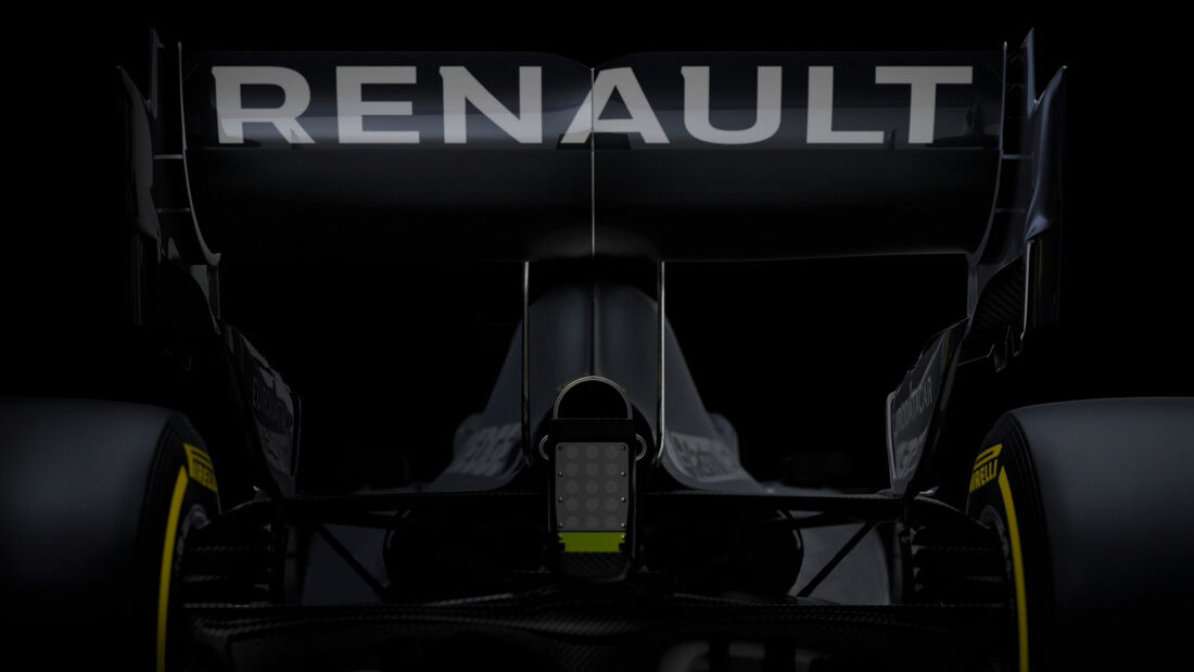Renault R.S.20 - Formel-1-Auto 2020