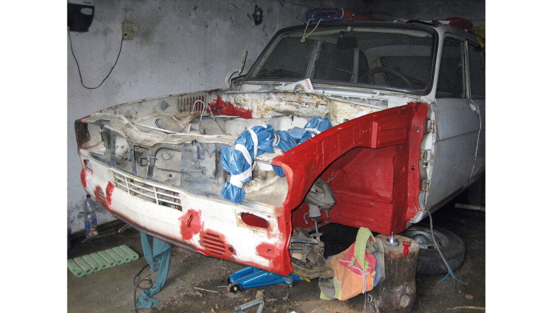 Renault R16, Detail