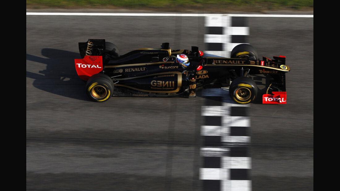 Renault R31 Petrov Formel 1 Test Barcelona 2011