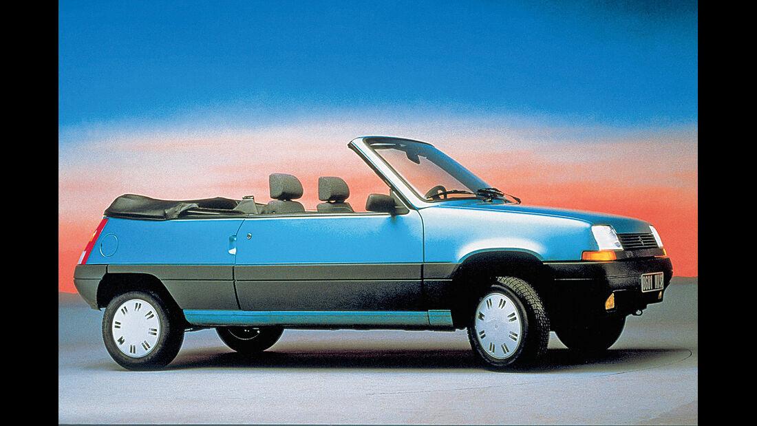 Renault R5 Cabrio, Seitenansicht