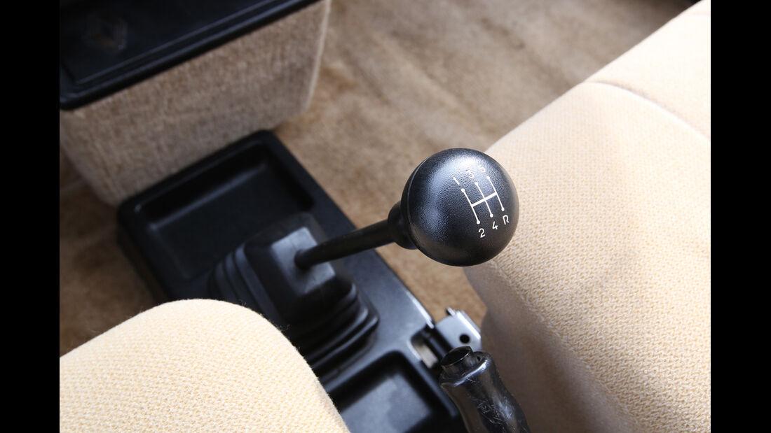 Renault R5 GTL, Ganghebel, Gangschalter