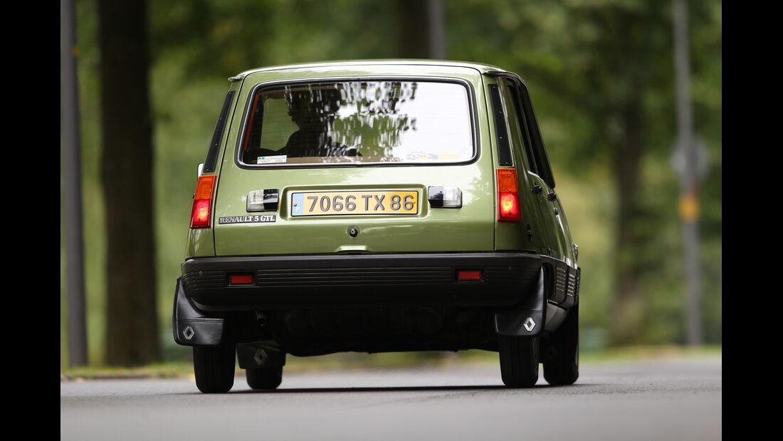 Renault R5 GTL, Heckansicht