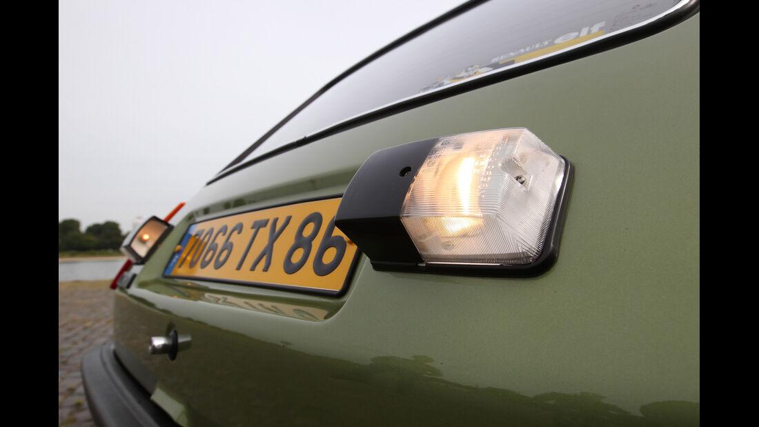 Renault R5 GTL, Heckleuchte
