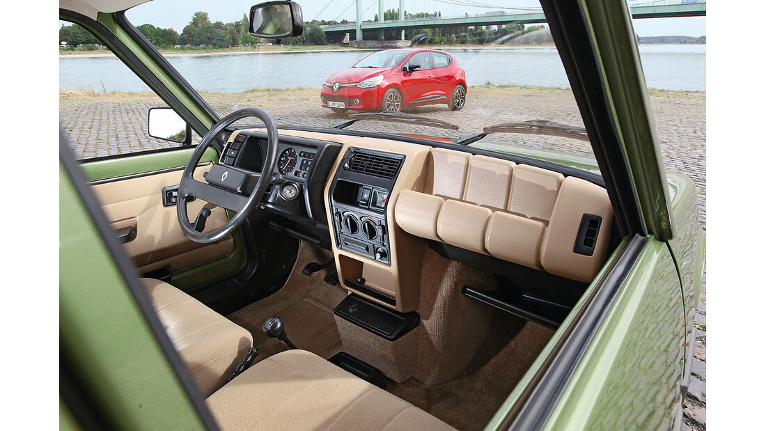 Renault R5 GTL, Innenraum, Cockpit