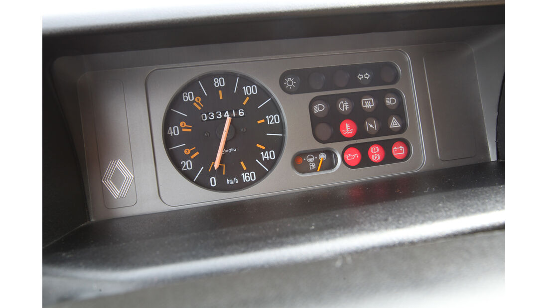 Renault R5 GTL, Rundinstrumente
