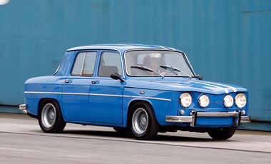 Renault R8, Seitenansicht