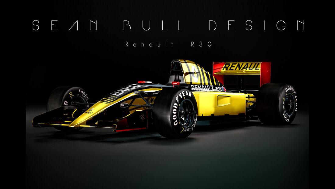 Renault - Retro F1 - Sean Bull