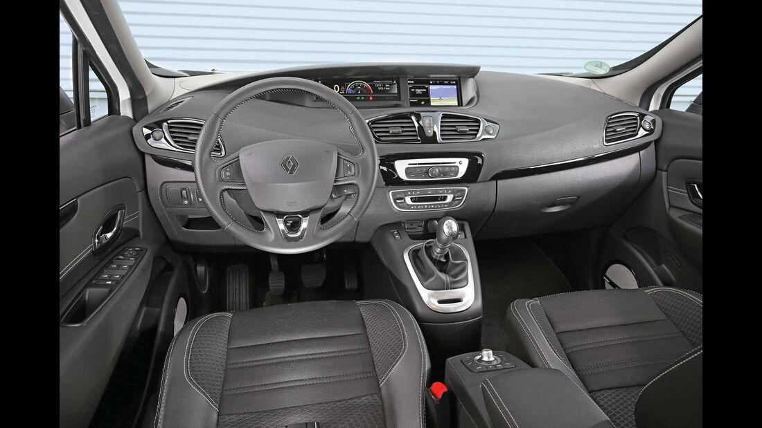 Renault Scénic, Cockpit