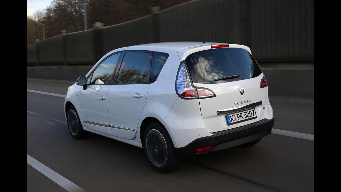 Renault Scénic, Heckansicht