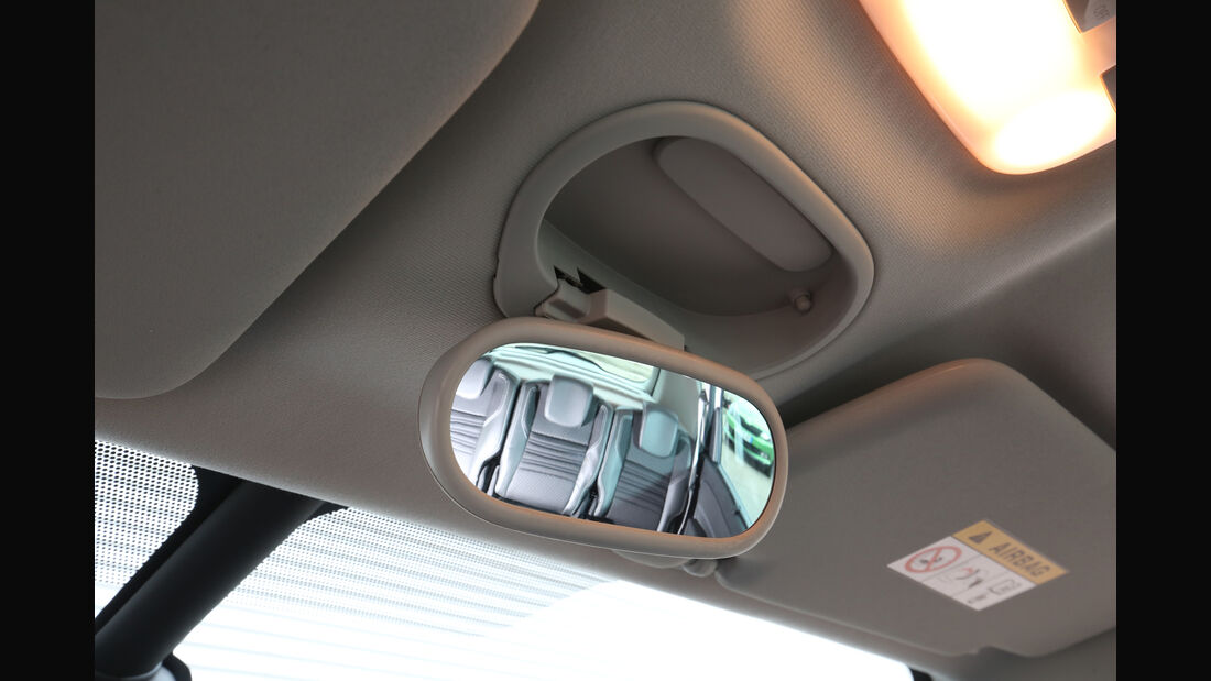 Renault Scénic, Rückspiegel