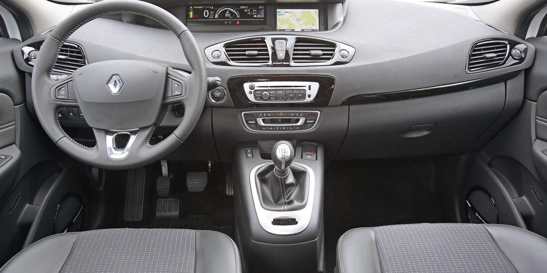 Renault Scénic TCe 130 Bose Edition, Cockpit