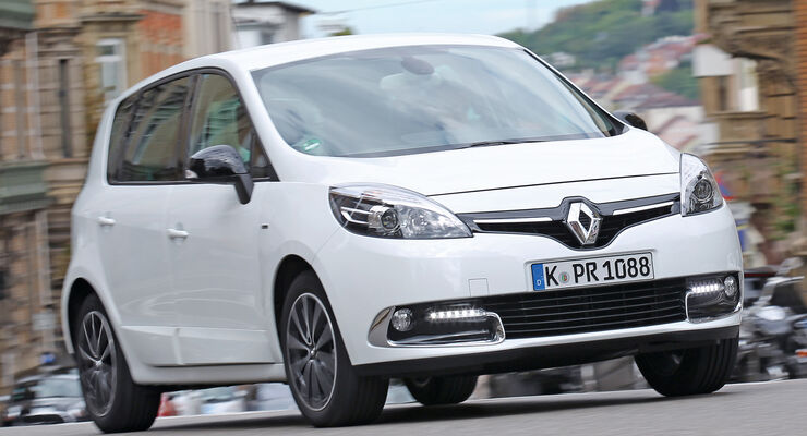 Renault Scénic TCe 130 Bose Edition, Frontansicht