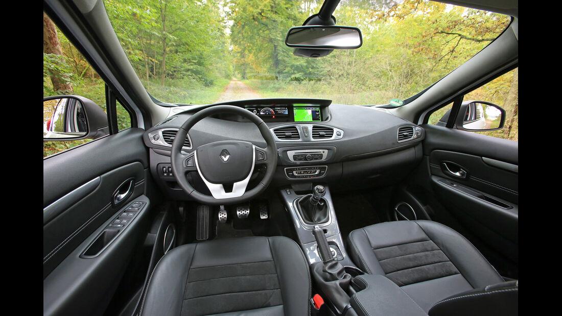 Renault Scénic TCe 130 Xmod, Cockpit