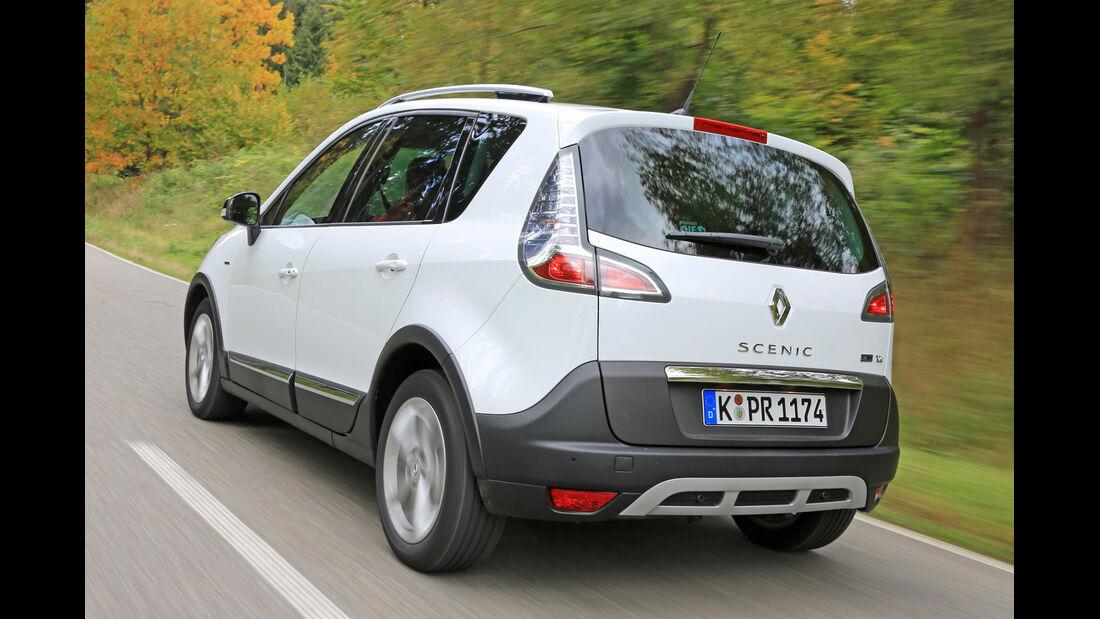Renault Scénic TCe 130 Xmod, Heckansicht
