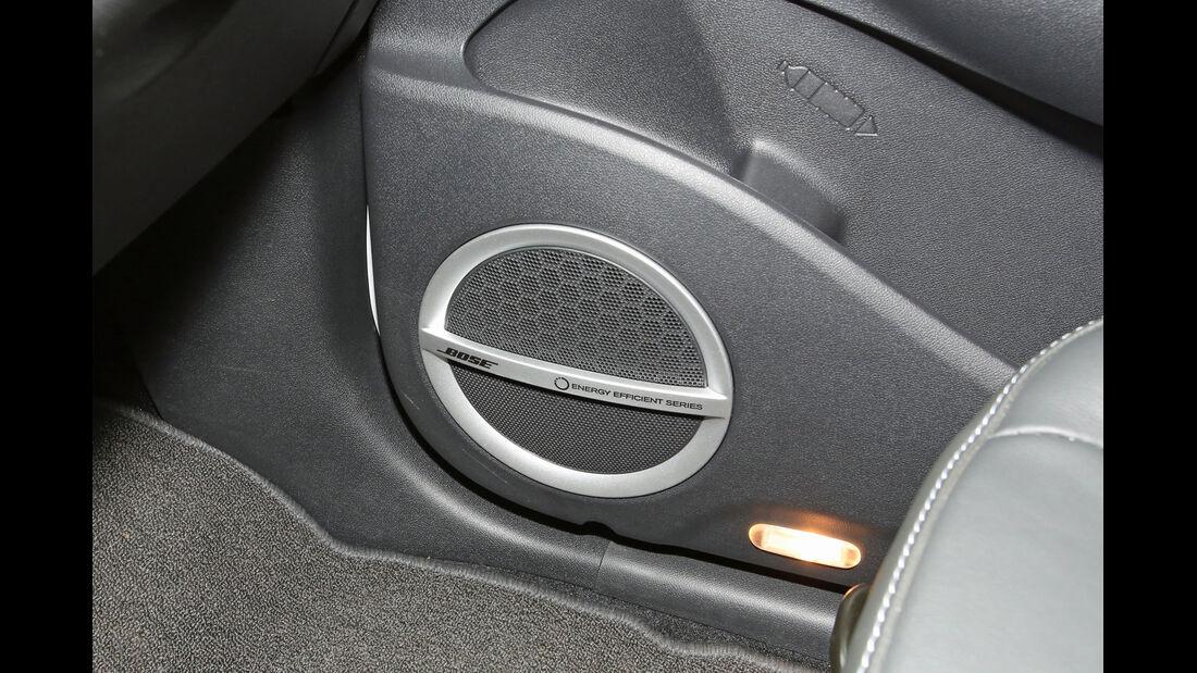Renault Scénic TCe 130 Xmod, Lautsprecher