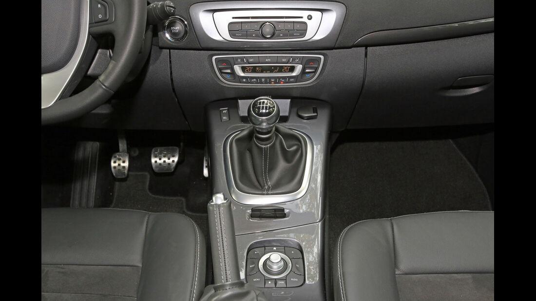 Renault Scénic TCe 130 Xmod, Schalthebel