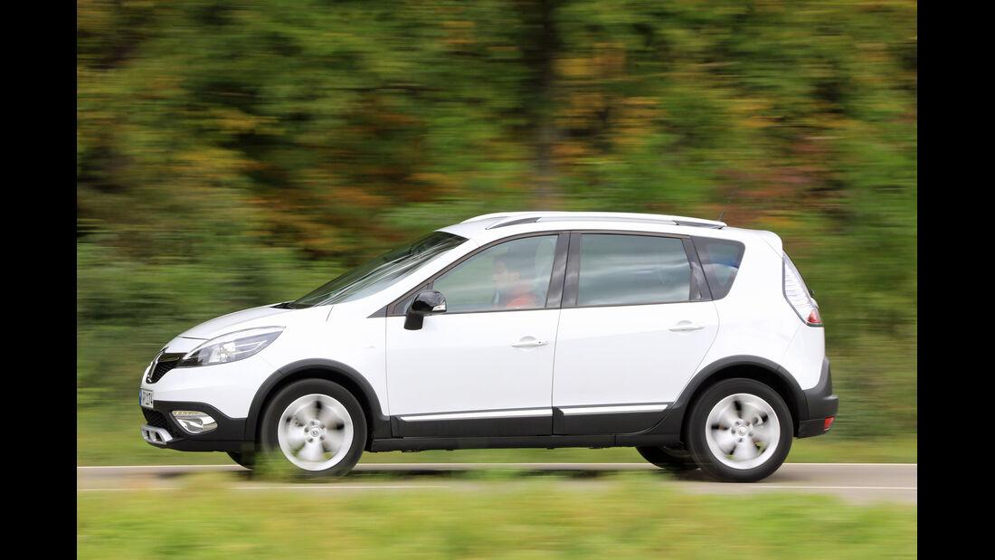 Renault Scénic TCe 130 Xmod, Seitenansicht