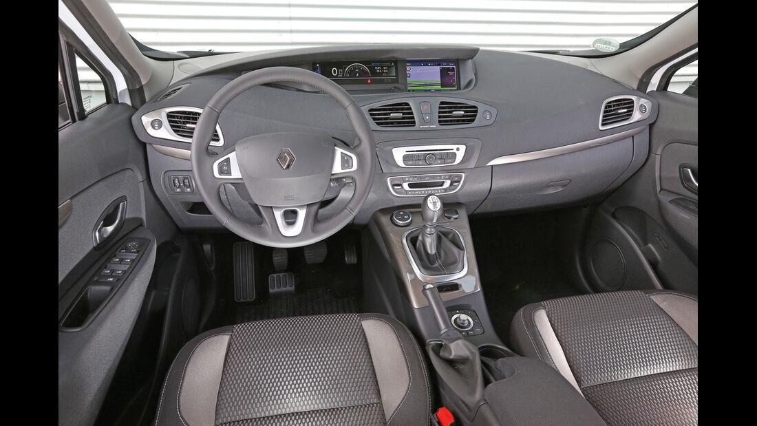 Renault Scénic XMod Energy dCi 110 Paris, Cockpit, Lenkrad