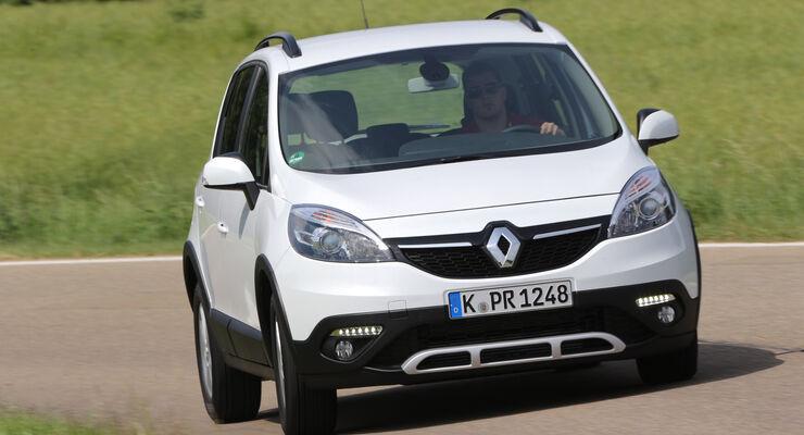 Renault Scénic XMod Energy dCi 110 Paris, Frontansicht