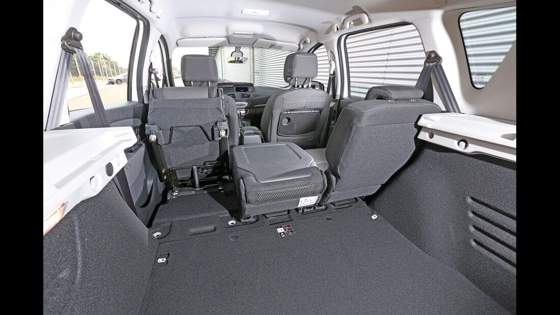 Renault Scénic XMod Energy dCi 110 Paris, Kofferraum