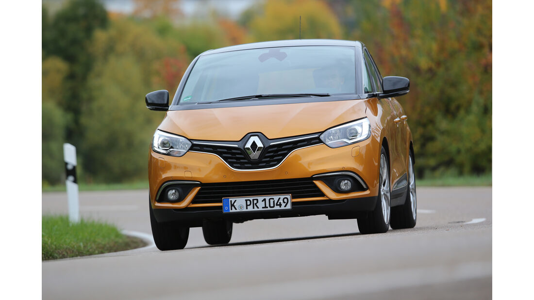 Renault Scénic dCi 130, Frontansicht