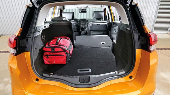 Renault Scénic dCi 130, Kofferraum