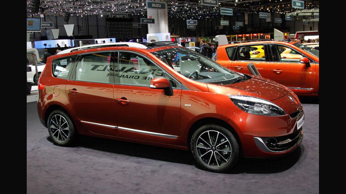Renault Scenic Autosalon Genf 2012, Messe