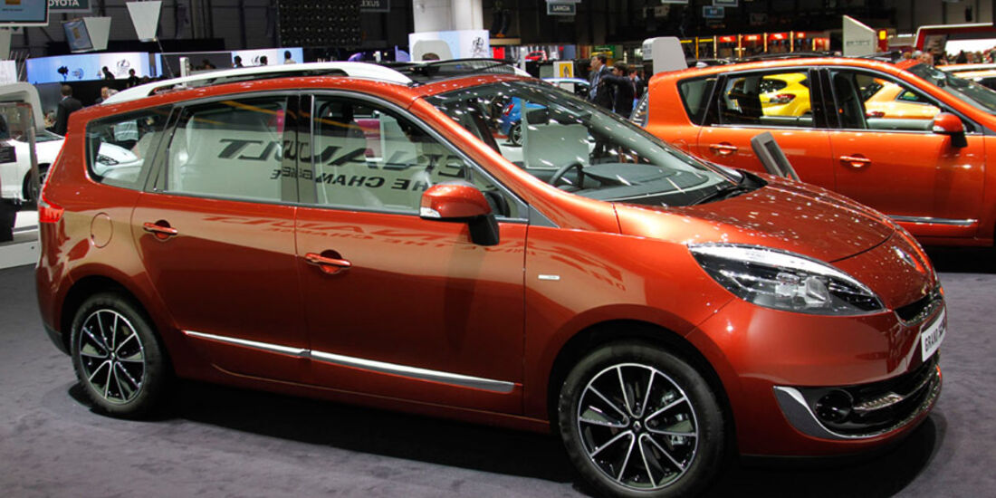 Renault Scenic Autosalon Genf 2012, Messe