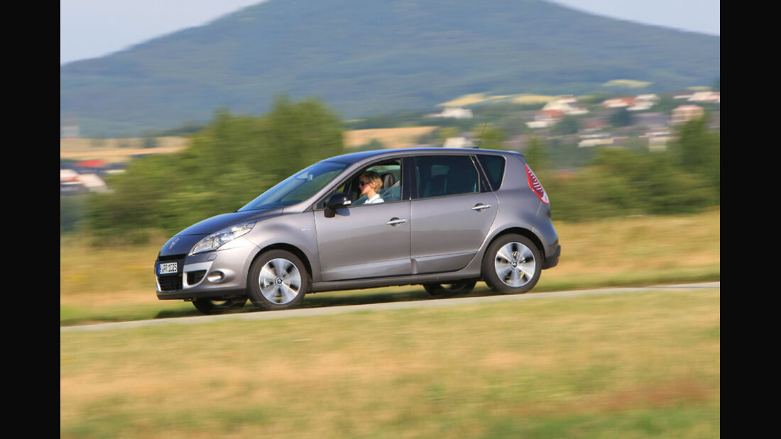 Renault Scenic Energy dCi 130, Start und Stop Dynamique