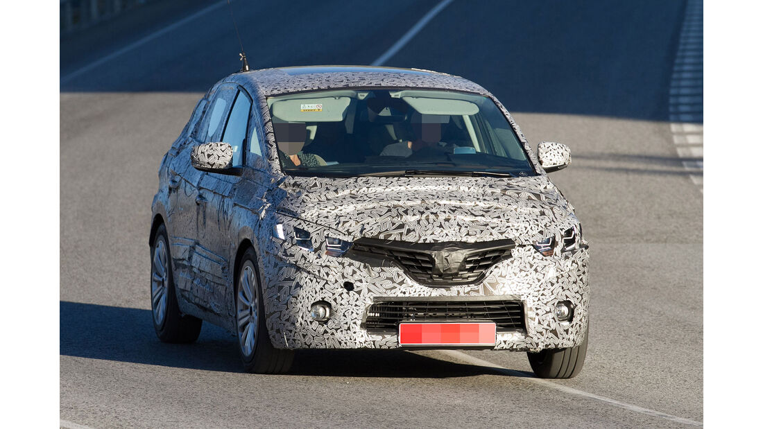 Renault Scenic Erlkönig