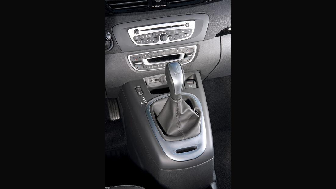 Renault Scenic dCi 110 FAP EDC, Schalthebel, Schaltknauf