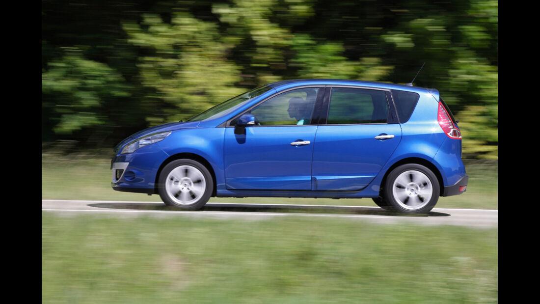 Renault Scenic dCi 110 FAP EDC, Seitenansicht