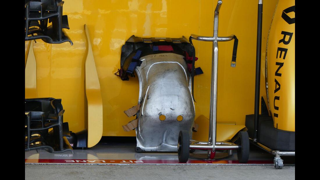 Renault - Sitz Jolyon Palmer - Formel 1 - GP Japan - Suzuka - Donnerstag - 6.10.2016