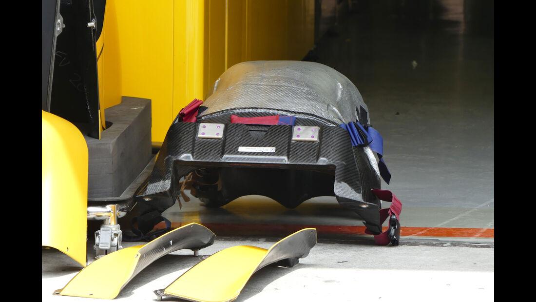 Renault - Sitz Palmer - GP China - Shanghai - Donnerstag - 14.4.2016