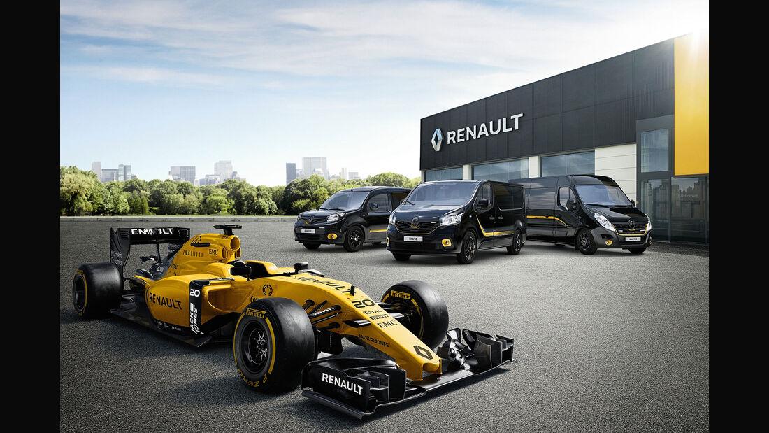 Renault Sondermodelle Formula Edition