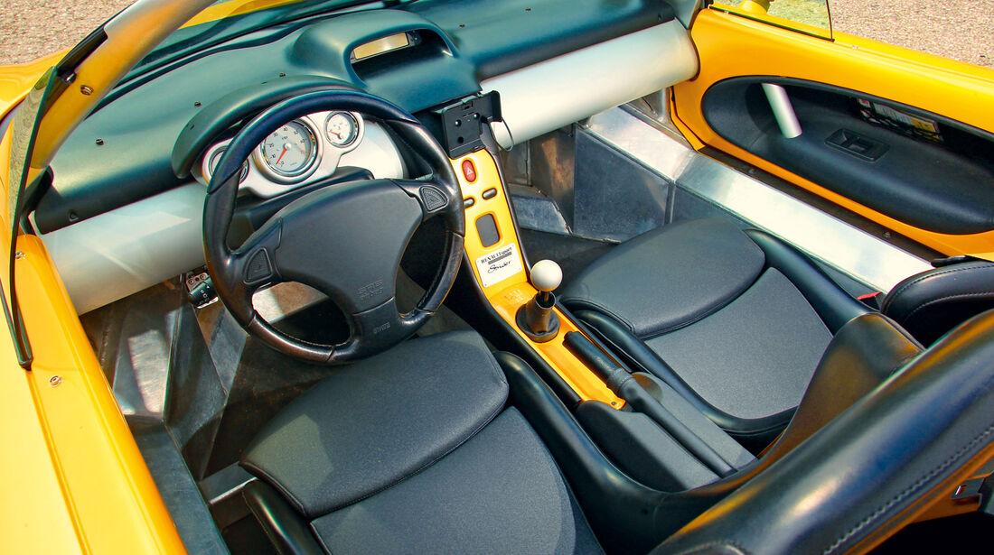 Renault Sport Spider, Cockpit