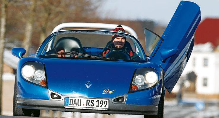 Renault Sport Spider, Flügeltür, Front