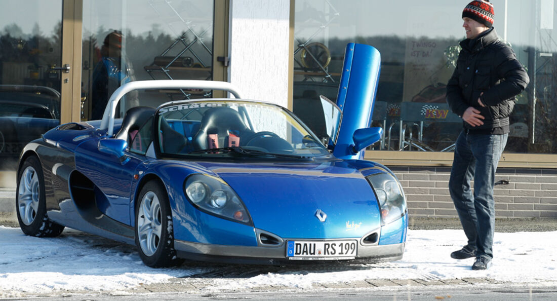 Renault Sport Spider, Flügeltür, Frontansicht