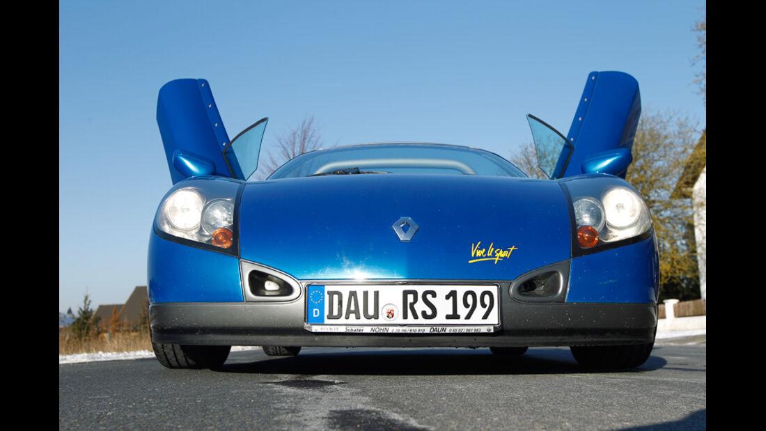 Renault Sport Spider, Front, Scherentür